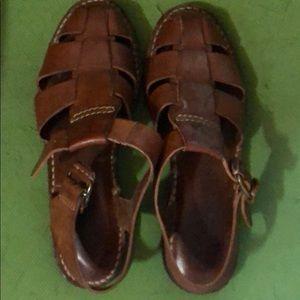 Cole Haan fishermen women's sandals